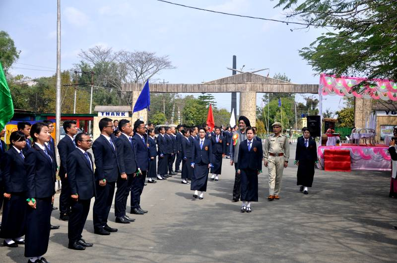Inspection of Parade