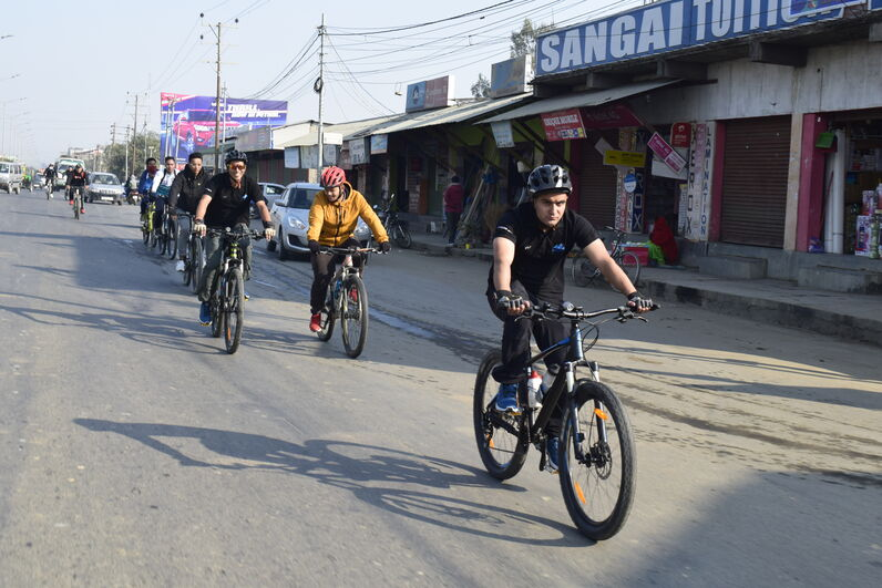 4 Nations MTB Cycling Expedition on 15 January, 2020