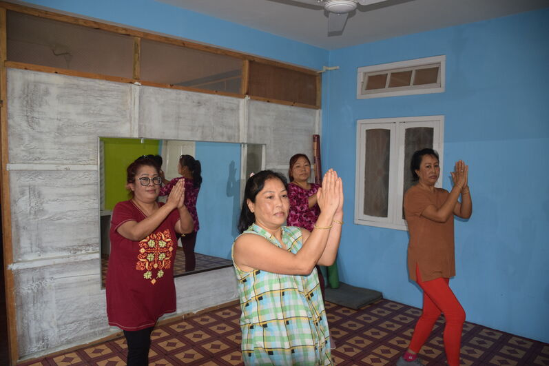 FIT INDIA CAMPAIGN FOR MANIPUR UNIVERSITY COMMUNITIES DURING COVID-19 PANDEMIC during 20 – 25 April, 2020