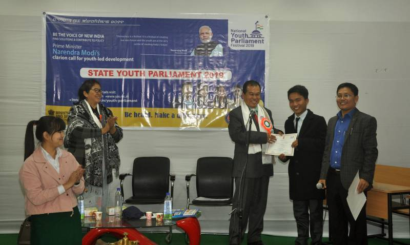 Certificate distributed by Prof. Amar Yumnam