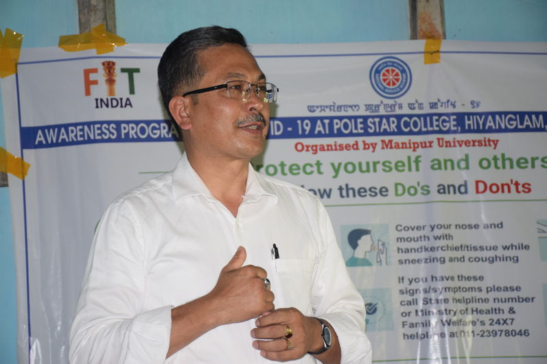 @ Pole Star  College, Hiyanglam, Kakching District, Manipur on 10-05-2020