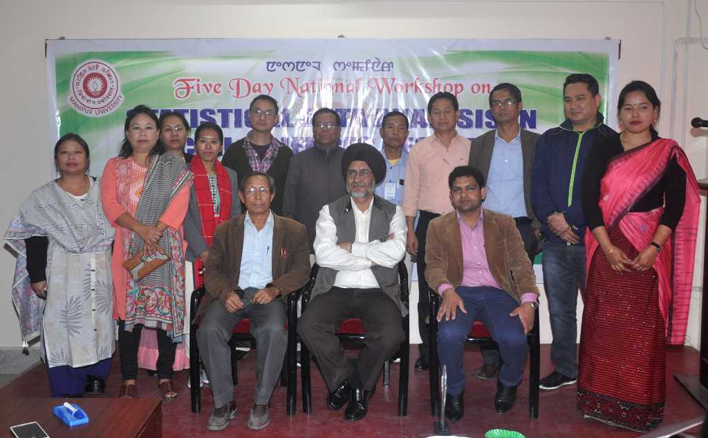 Group Photo session of Statistical Data Analysis in Social Sciences Research