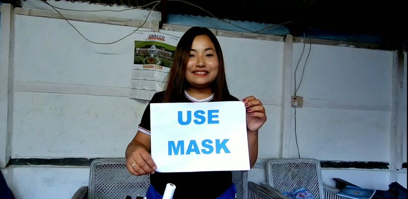 FIT INDIA CAMPAIGN STUDENTS OF MANIPUR UNIVERSITY DURING COVID-19 PANDEMIC during 15-20 April, 2020