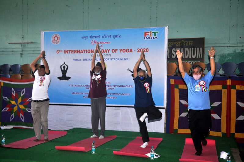 6th International Day of Yoga – 2020
