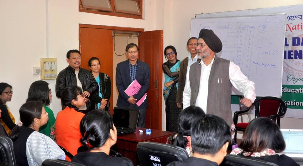 Manipur University organised National Workshop on Statistical Data Analysis