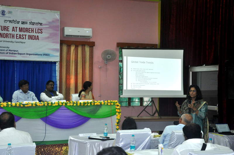 Seminar-cum-workshop on Issues of Institutional and Physical Infrastructure at Moreh LCS and Way Ahead For India's Act East Policy For North East Indi