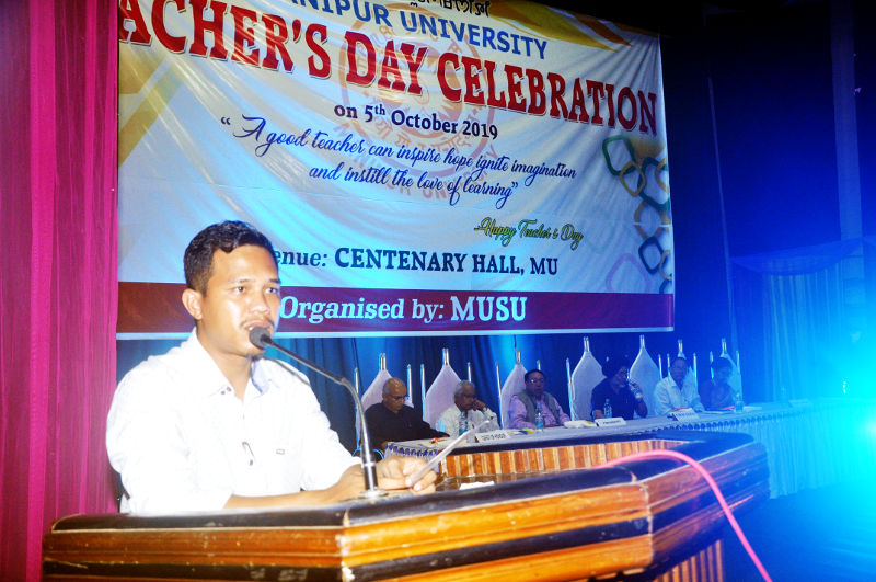 MUSU celebrated Teacher's Day on 5th October 2019