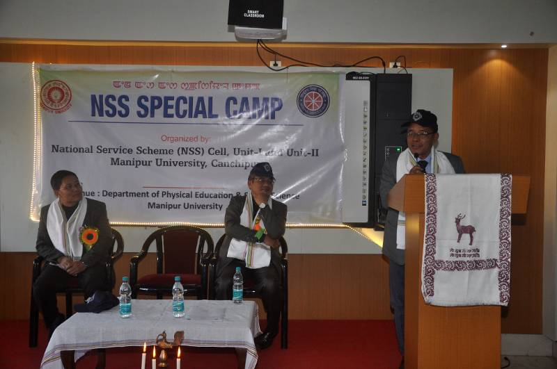 NSS Special Camp by NSS Cell, Unit-I and Unit-II M.U.