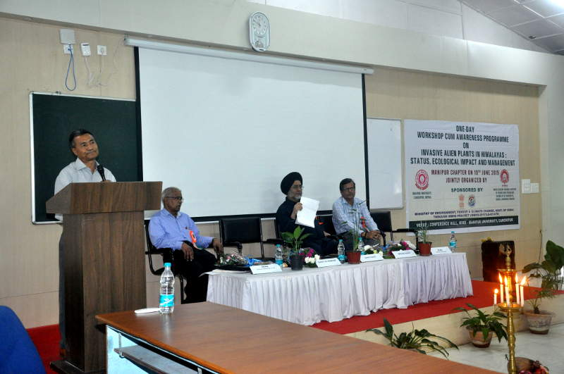 One-Day Workshop Cum awarenwss Programme on Invasive alien plants In Himalayas: Status, Ecological Impact And Management