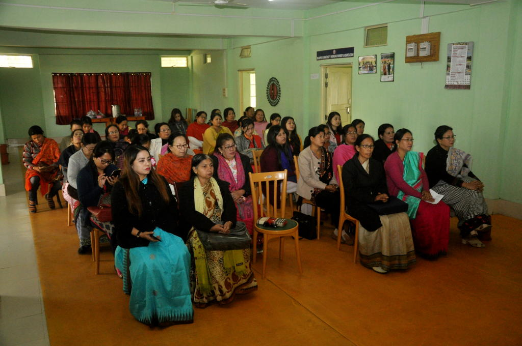 Manipur University Working Women Association Observed Nupilal Numit at Women Facility Centre, M.U.