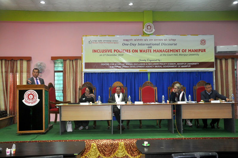Inclusive Policies on Waste Management of Manipur on 27/12/2019