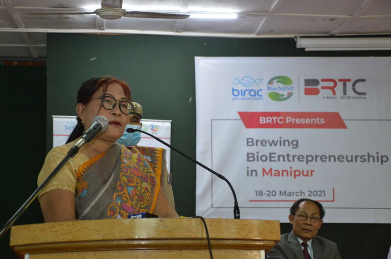 "Inauguration Programme on ""Brewing Bio Entrepreneurships in Manipur"""