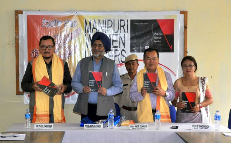 Book Release Function: Manipuri Women Leaders by Mamta Lukram