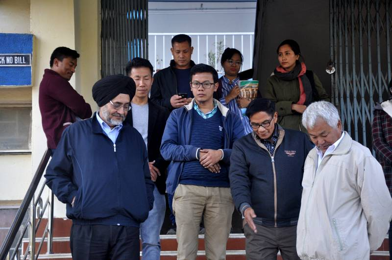 Jarnail Singh, Administrator of MU, visited Anthropology Department on January 30, 2019