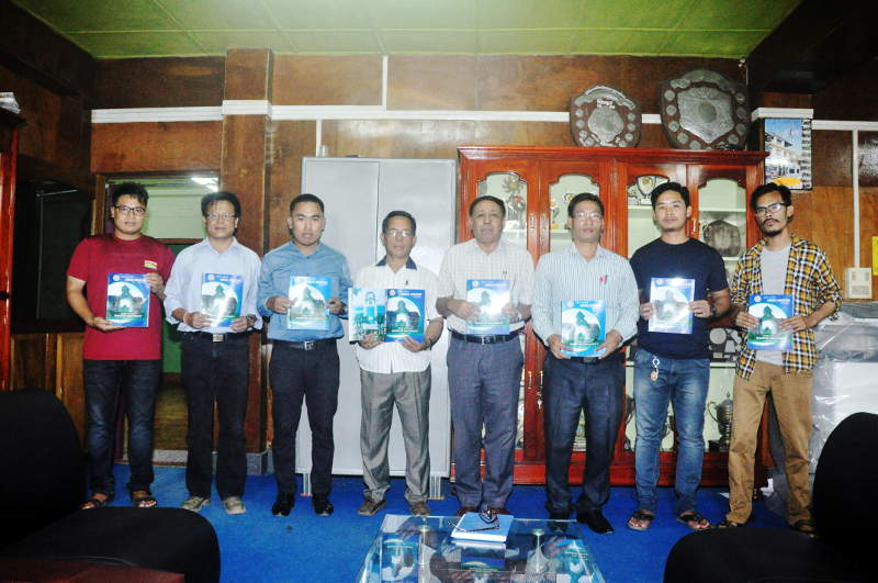 Release of Annual Magazine 2017-2018 on Date 19/06/2019 at Dean Office