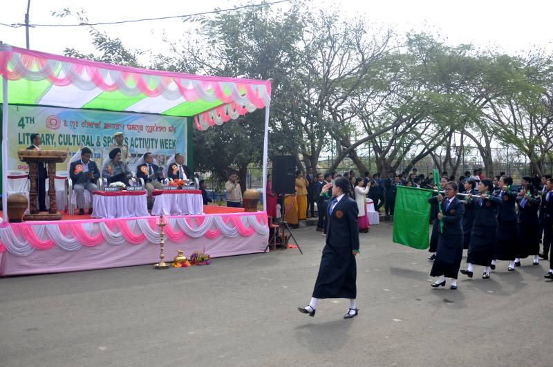 4th Literary, Cultural & Soprts Activity Week, on 27-Feb-2019.