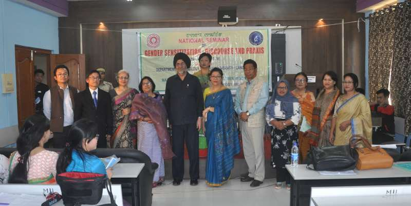 National Seminar on Gender Sensitization: Discourse And Proxis at Dept. of Sociology