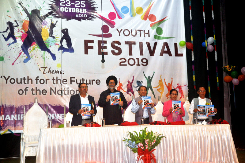 33rd Manipur University Inter-college Youth Festival-2019 DAY1(23/10/2019)