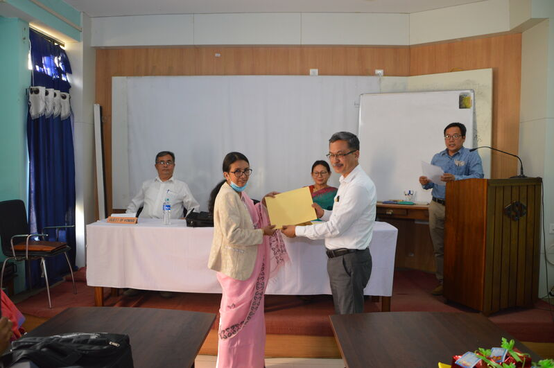 Closing Function of UGC Sponsored 39th Orientation Programme on 27/3/2021
