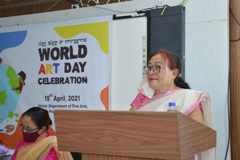WORLD ART DAY CELEBRATION on 15/04/2021
