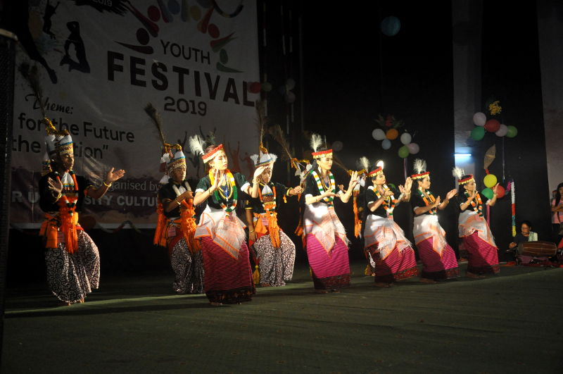 33rd Manipur University Inter-College Youth Festival-2019 DAY-2(24/10/2019)