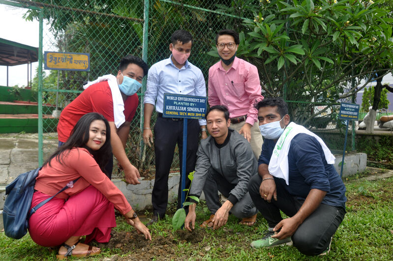 Manipur University observed World Environment Day 2020