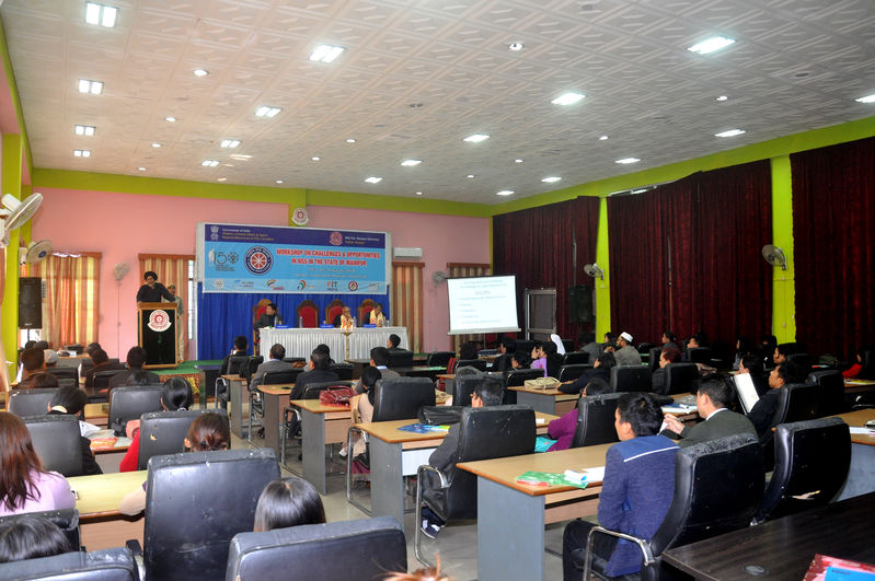 Workshop on Challanges & Oppertunities in NSS in the State of Manipur (24-25 Feb 2020)