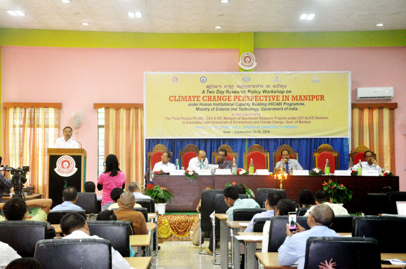 Climate Change Perpective in Manipur