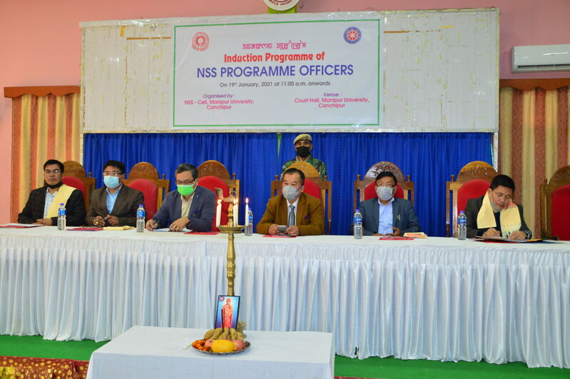 Induction Programme of NSS Programme Officers on 19/01/2021