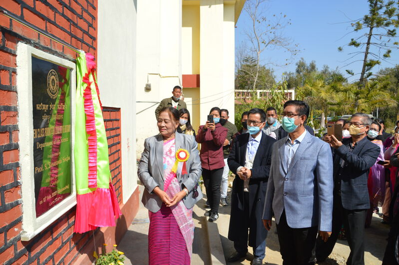 Inauguration of New Class Room for Zoology & Botany, Department of Life Science on 10/02/2021