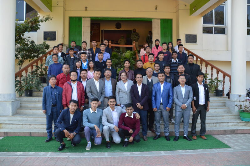 Oath Taking Ceremony of MUSU 2020-2021 on 11/02/2021