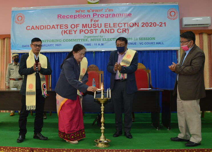 Reception Programme for Candidates of MUSU Election 2020-21