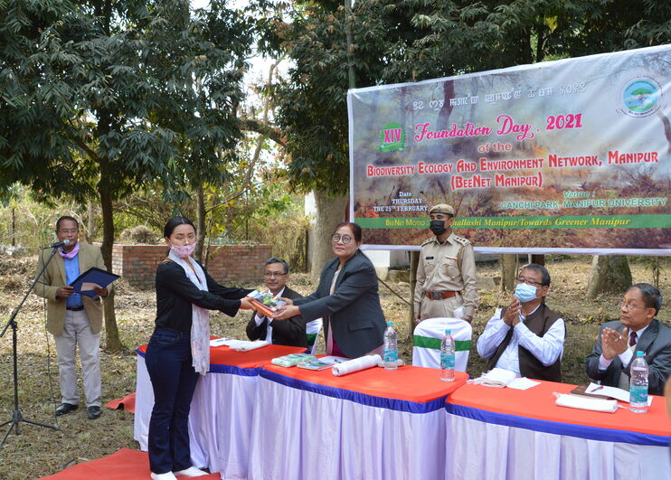 XIV Foundation Day 2021 of the Biodiversity Ecology And Environment Network, Manipur (BEENET MANIPUR)