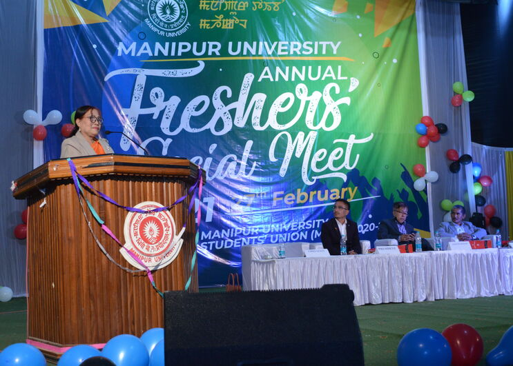 Manipur University Annual Freshers' Social Meet 2021