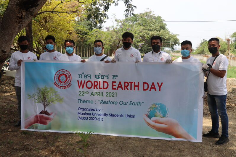 World Earth Day on 22/04/2021