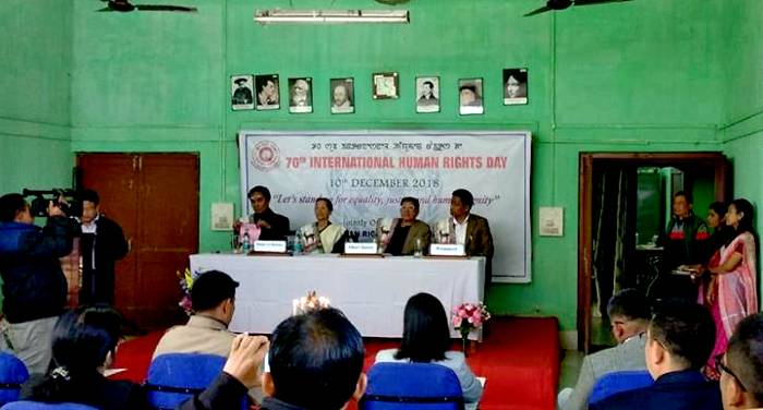 Manipur University Observed 70th International Human Rights Day