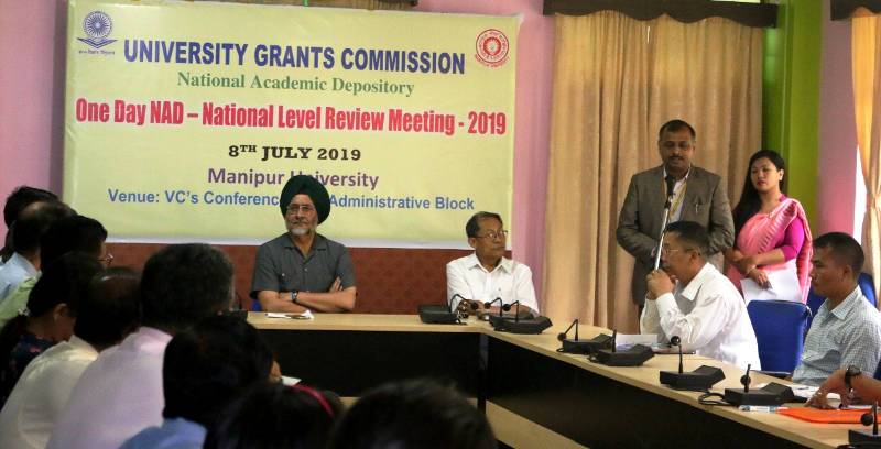 MU Organised National Review Meeting on National Academic Depository