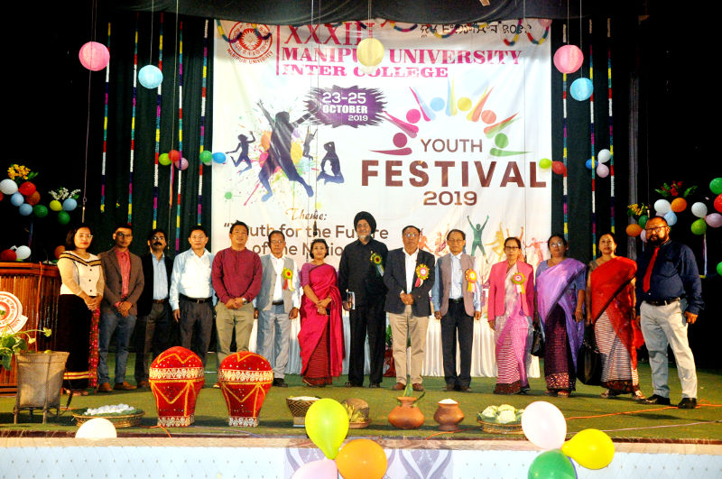 33rd Manipur University Inter-college Youth Festival-2019