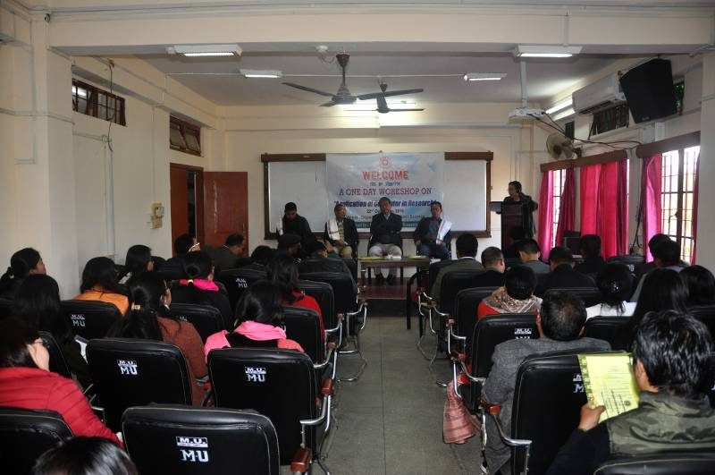 MURC organised one day workshop on Application of Computer in Research