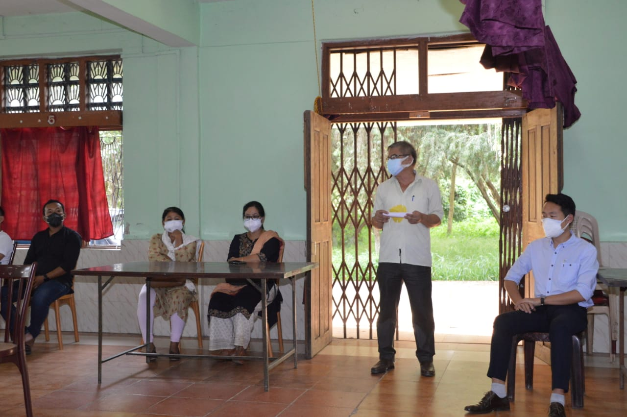 MANIPUR UNIVERSITY FOR THE SOCIETY DURING THE COVID PANDEMIC
