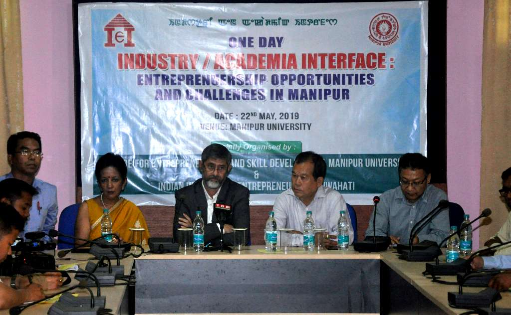Industry/Academia Interface: Enterprenuership Opportunities And Challenges in Manipur