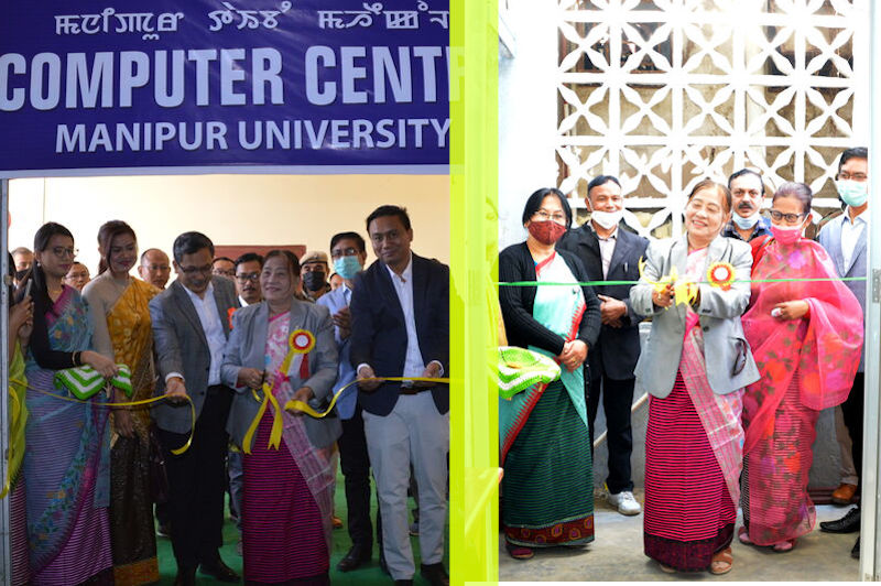 Inauguration of COMPUTER CENTRE & Classroom for Zoology and Botany on 10/2/2021