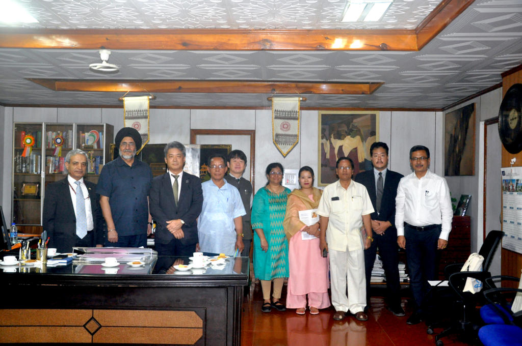 Embassy of Japan Visit Manipur University