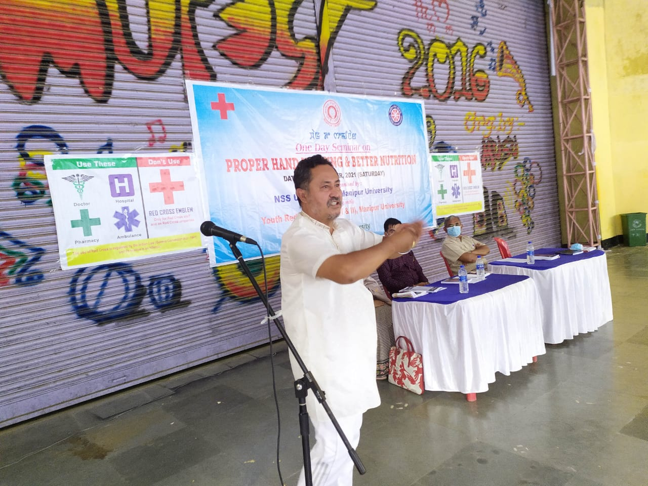 """One Day seminar on """"Proper Hand Washing and Better Nutrition"""""""