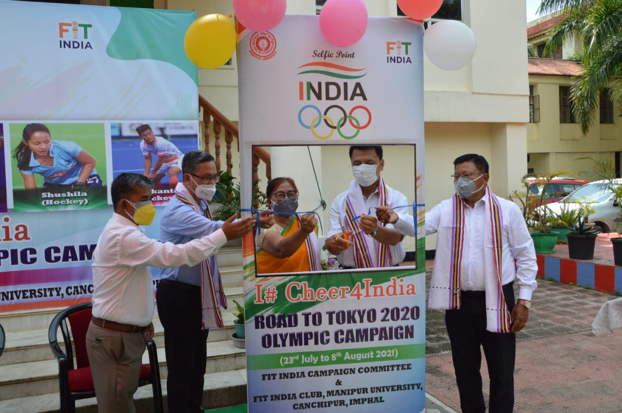 I #Cheer4India Road to Tokyo 2020 Olympic Campaign