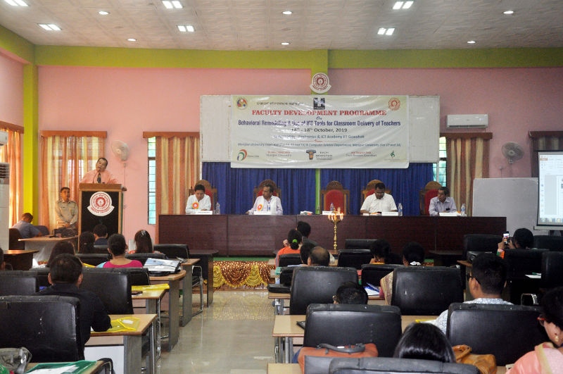 Faculty Development Programme on Behavioral Remodeling and Use og ICT Tools for Classroom Delivery of Teachers