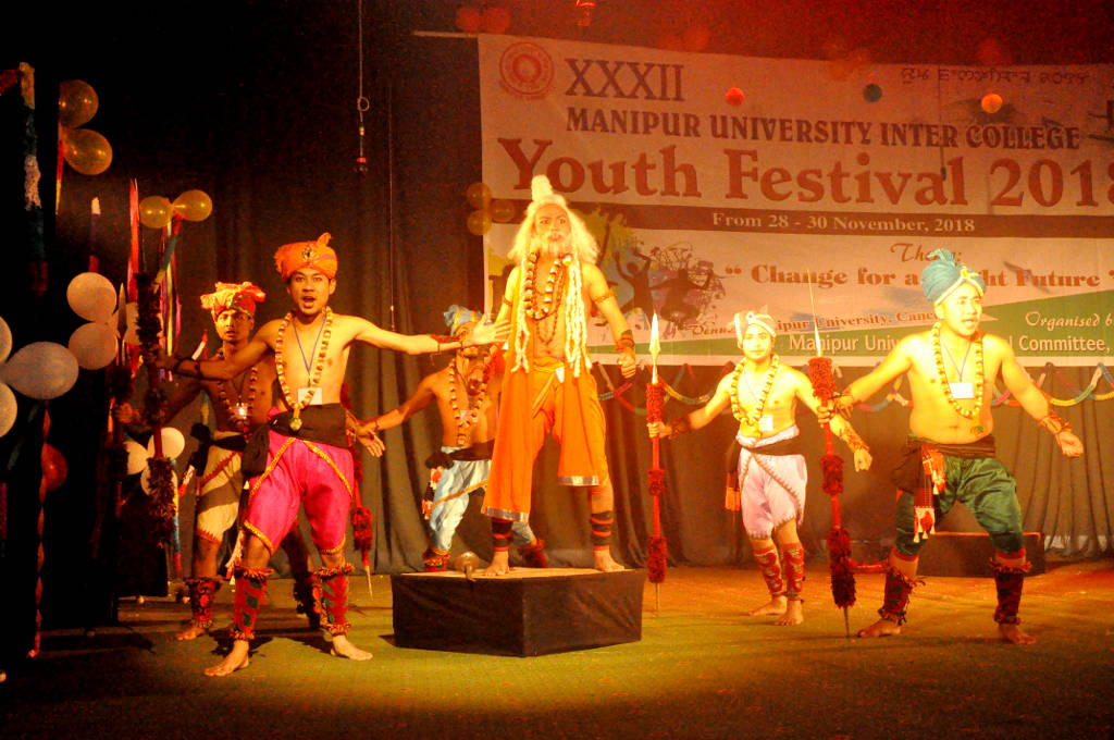 XXXII Manipur University Inter College Youth Festival 2018