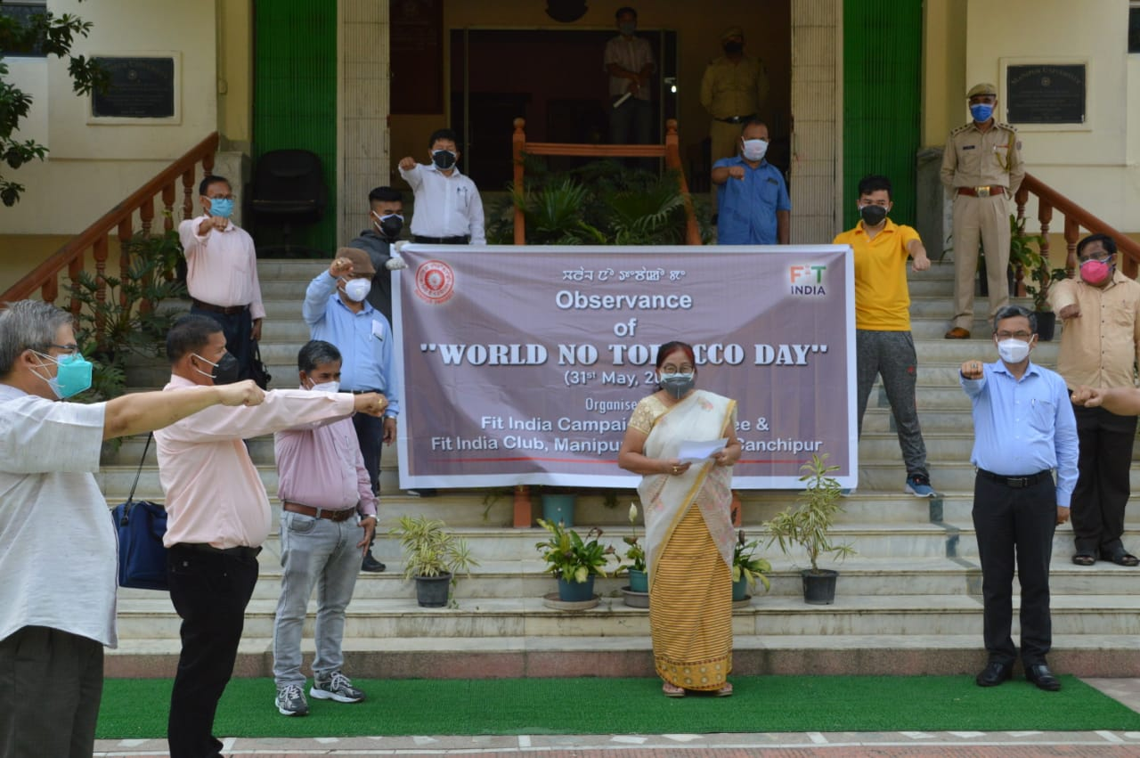 Observance of WORLD NO TOBACCO DAY (31st May 2021)