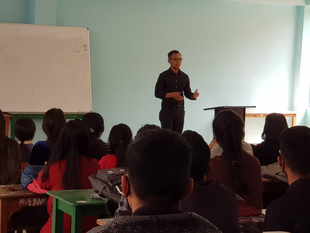 Interactive sessions with Research fellow from Ghent University, Belgium on 10/03/2021